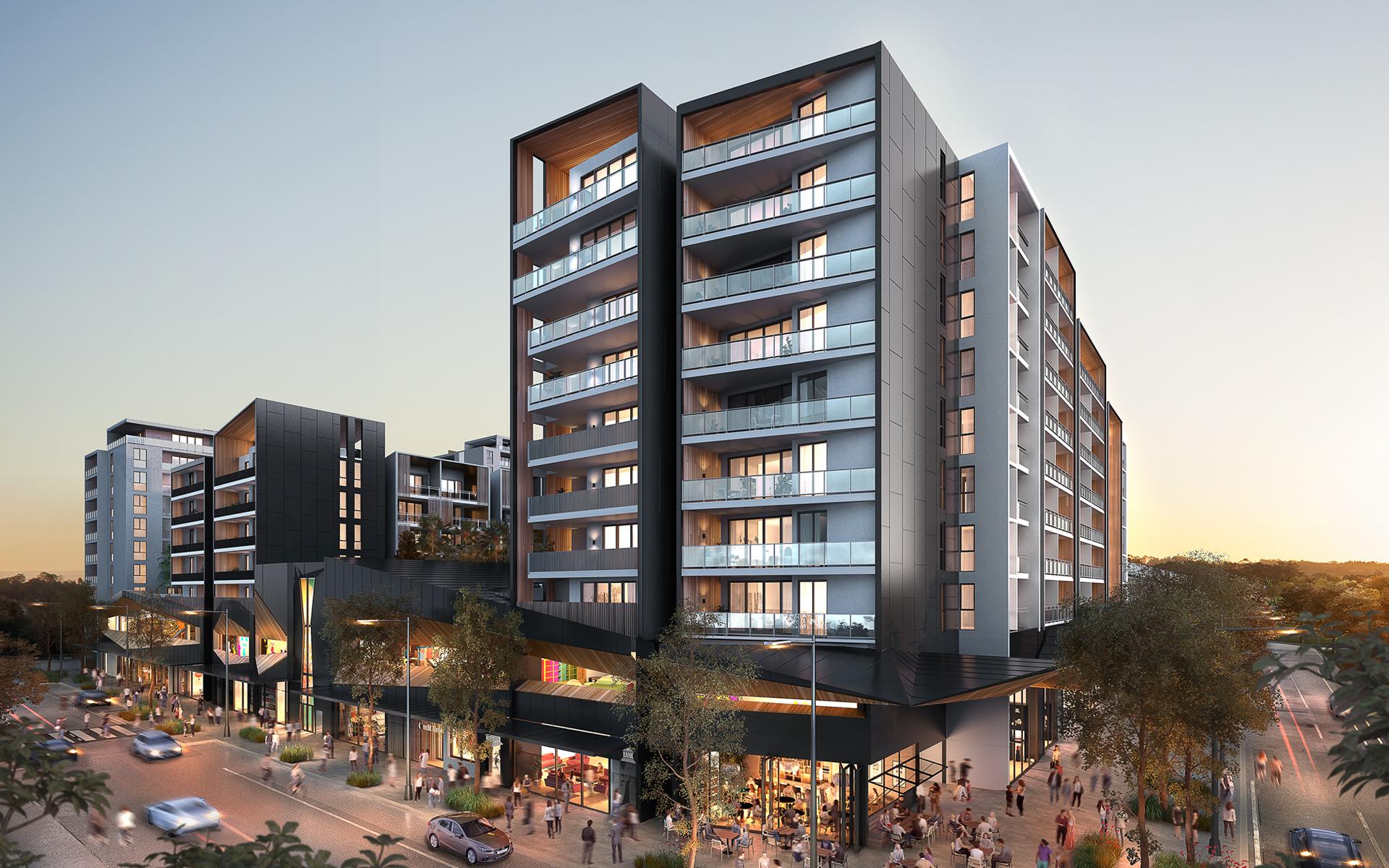 Ed Square, Edmondson Park - Summer Housing