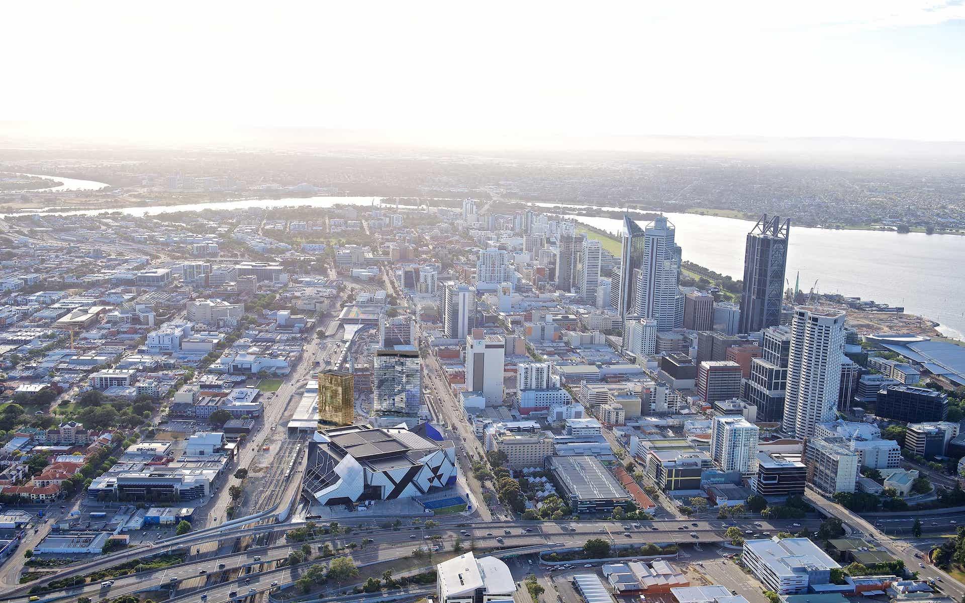Perth Hub, Perth CBD - Summer Housing